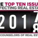 CRE's Top Ten Issues Affecting Real Estate 2017-18